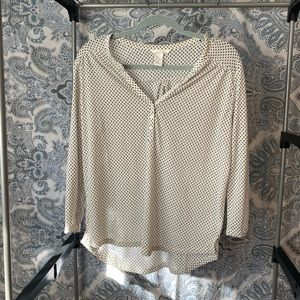 H&M patterned top/blouse